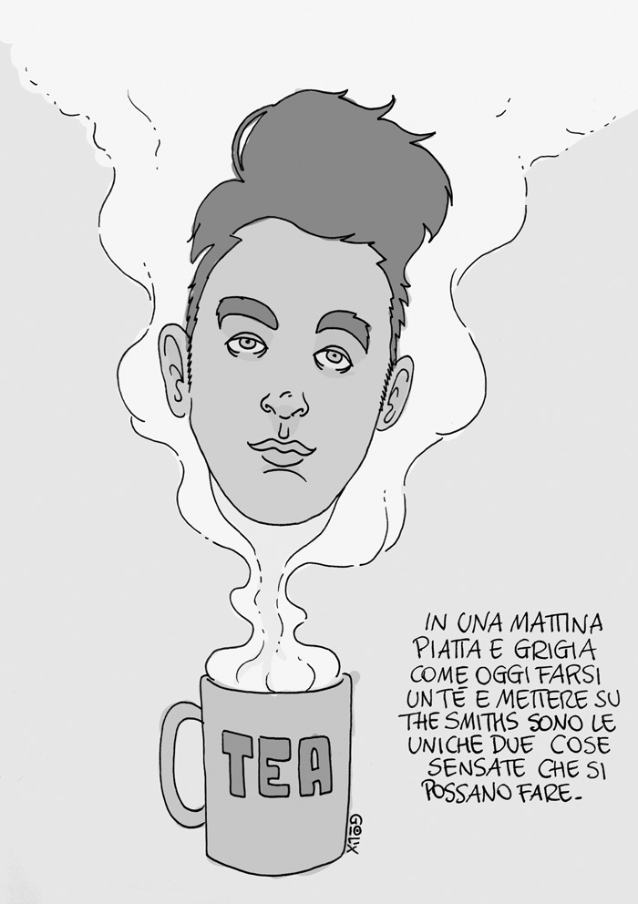 The Smiths Morrisey a fumetti
