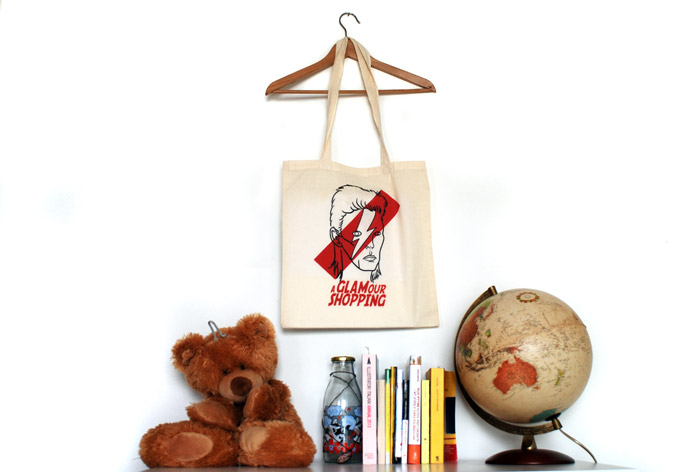 borsa shopper creativa