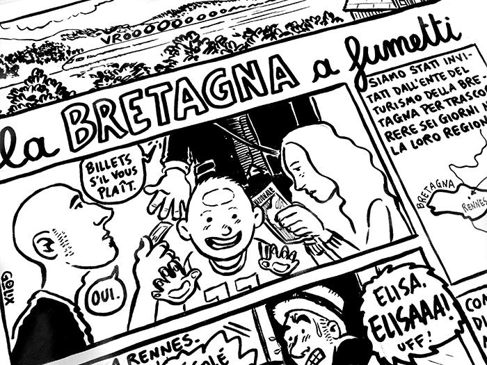 La Bretagna a fumetti
