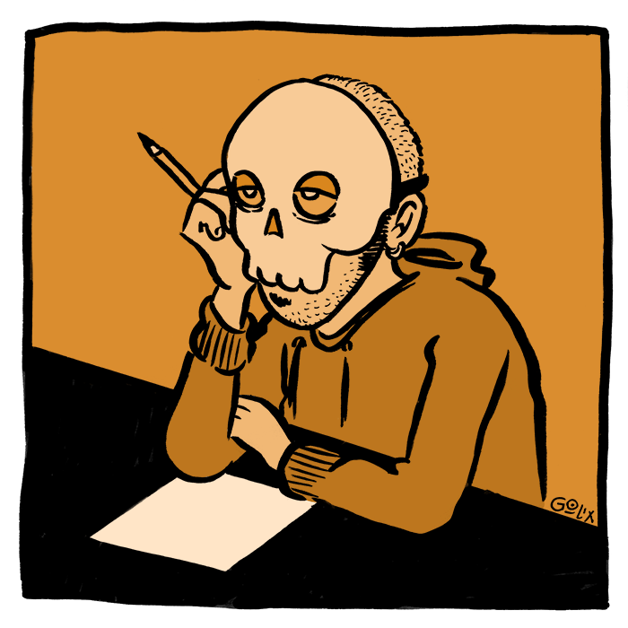 La depressione post-parto del fumettista